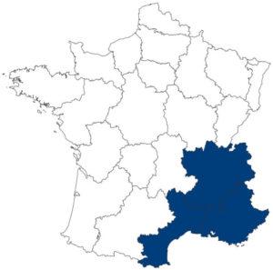 Bernaud : Carte zone d'intervention